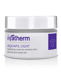 Ivatherm AQUAFIL LIGHT Crema hidratanta