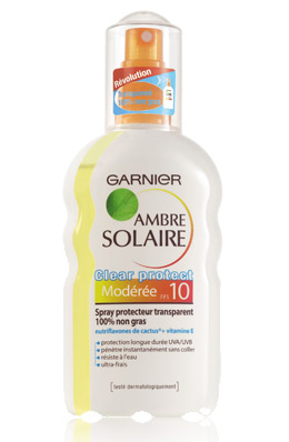 Garnier Ambre Solaire Clear Protect Spray Transparent SPF10